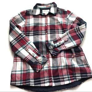 ORVIS | Women's Fleece Lined Button Down Shirt M